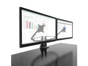 Kanto DMS2000 Dual-Monitor Desktop Mount for 17-inch to 32-inch Displays - Black