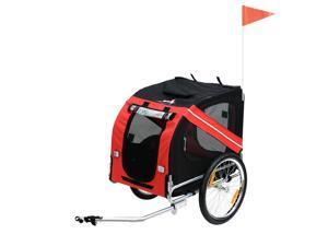 Pet Bicycle Trailer Dog Cat Bike Carrier