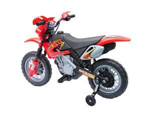 Aosom 6V Electric Kids Ride On Motorcycle Powered Dirt Bike Battery Scooter