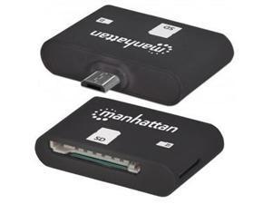 Manhattan Mobile OTG Adapter, 24-in-1 Card Reader/Writer