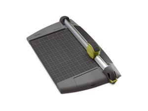 Kensington Swingline SmartCut EasyBlade Plus Rotary Paper Trimmer, 12-Inch, 15 Sheet Capacity, Gray and Green