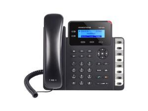 Grandstream GXP1628 - IP Telephone - 132 x 48 backlit graphical LCD Display - 2 line keys wi
