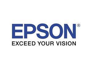 Epson LK-4BWV Label Works Labels Stnd Wht/Blk 12Mm Tape Cart