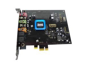 Dell Creative Sound Blaster SB1350 Recon 3D PCI-E X1 Sound Card - Sound Core3D Audio Proccesor 24 bit Resolution 102DB SNR, 0DR8F