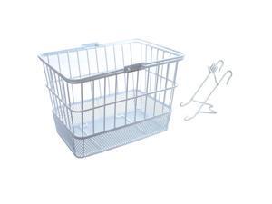 SUNLITE Basket Front Wire/Mesh L/O Std Wh W/Bracket - TL-332M+TL-332-A/WHT
