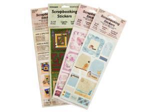 FRESH VERSE Embossed Wedding Scrapbook Stickers