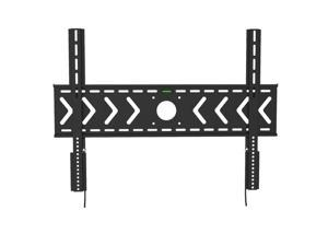 Fixed Heavy Duty Low Profile Flat Panel Wall Mount, Max Panel Weight 100kg Designed for Most of 50-100 inch LED, LCD, OLED Flat Panel, Supports up to VESA 800x600mm BIGASSMOUNT100 Amer Mounts