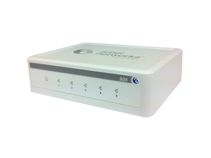 Amer Networks SD5 10/100Mbps 5-Port Unmanaged Desktop Switch