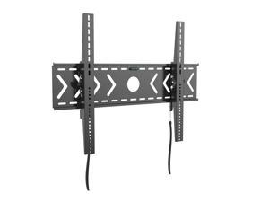 Heavy Duty Low Profile Tilting Flat Panel Wall Mount, Max TV/Interactive Display 250lbs for most of 42-100+ inch LED,LCD, OLED Flat Screen TV, Supports up to VESA 800x600mm BIGASSMOUNT250T Amer Mounts