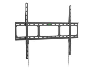 Fixed Heavy Duty Low Profile Flat Panel Wall Mount, Max TV Weight 150lbs designed for most of 40-100 inch LED, LCD, OLED Flat Screen TV, Supports up to VESA 800x600mm BIGASSMOUNT150 Amer Mounts