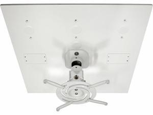 Amer Mounts Universal Drop Ceiling Projector Mount Replaces a 2'x2' Ceiling Tile - Holds up to 30 lbs