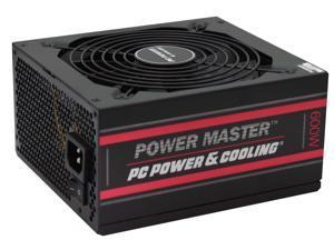 PC Power & Cooling Power Master 600 Watt, 80 Plus Bronze, Semi-Modular, Active PFC, Industrial Grade ATX PC Power Supply, 3 Year Warranty, FPS0600-A2S00