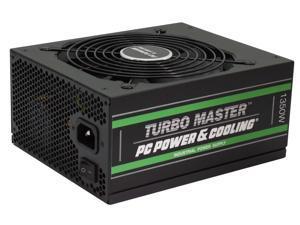 PC Power & Cooling Turbo Master Series 1350 Watt ATX, 80 Plus Gold, Fully-Modular, Active PFC, Quiet Industrial Grade, ATX PC Power Supply, 7 Year Warranty, TM1350