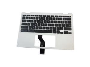 Acer Chromebook CB5-132T Laptop White Upper Case Palmrest & Keyboard 6B.G54N7.016