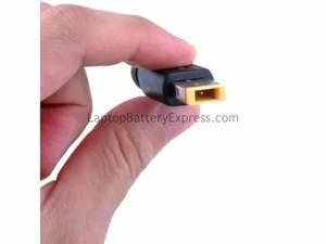 Rectangular Power Adapter Tip for Lenovo X1 and UltraBook laptops