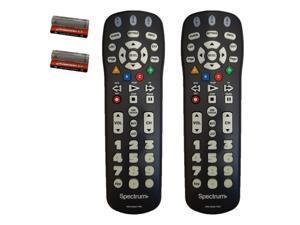 Lot of 2 (TWO) SPECTRUM (Time Warner) BIG Button TV Remote Control UR3-SR3S US
