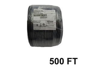 COMMSCOPE F677TSVV XP BLACK 500' FT COAXIAL CABLE SATELLITE CCTV HD TV TELECOM