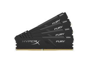 HyperX FURY 64GB (4 x 16GB) 288-Pin DDR4 SDRAM DDR4 3200 (PC4 25600) Desktop Memory Model HX432C16FB3K4/64