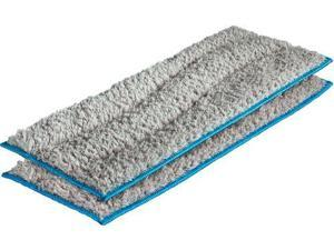 Washable Wet Mopping Pads for  Braava jet m Series Robot Mops (2-Pack) - Gray