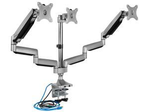"""Mount-It! Triple Monitor Desk Mount 