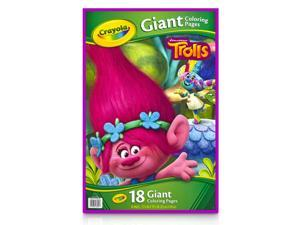 Crayola Giant Coloring Pages, Trolls 04-6922