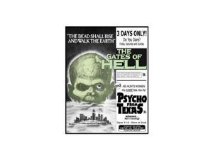 MUSIC VIDEO DIST GATES OF HELL/PSYCHO FROM TEXAS (BLU-RAY/DRIVE-IN DOUBLE FEATURE #6) BR97676