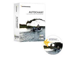 HUMMINBIRD AUTOCHART PC SOFTWARE W/ ZERO LINE 600031-1