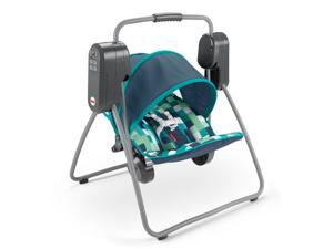 Fisher-Price On-The-Go Swing - Pixel Forest GHP39