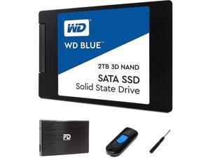 Fantom Drives FD 2TB SSD Upgrade Kit Includes 2TB WD Blue SSD W2000SSDKIT