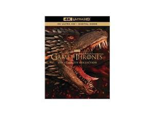 GAME OF THRONES-COMPLETE SERIES SEASONS 1-8 SET (4K-UHD/33 DISC/73 EPISODES