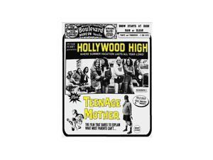 MUSIC VIDEO DIST HOLLYWOOD HIGH + TEENAGE MOTHER (DRIVE-IN DOUBLE FEATURE #9) BRD88093