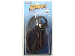 DIESEL AM/FM SCANNER Y SPLITTER CABLE FOR USE WITH SCANNERS