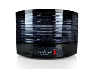 NUTRICHEF  Nutrichef Food Dehydrator - Electric Kitchen Dehydrator (Black)