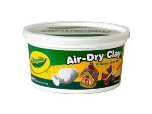 Binney & Smith Crayola Air-Dry Clay, 2 1/2 lbs. 57-5050