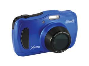 Coleman(R) C30WPZ-BL 20.0-Megapixel Xtreme4 HD Waterproof Digital Video Camera (Blue)