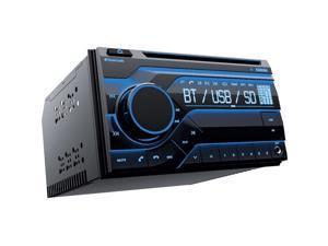 PLANET AUDIO PB475RGB Planet Double Din MP3/CD/AM/FM Receiver Bluetooth Multi Color Display