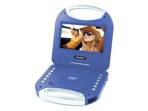SYLVANIA SDVD7049-BLUE 7 Portable DVD Player with Integrated Handle (Blue)