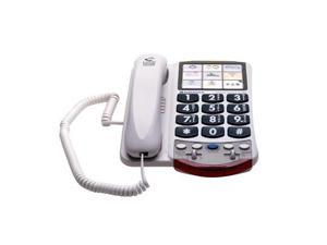 Clarity Ameriphone P300 Amplified Photo Corded Telephone - 1 x Phone Line(s) - Headset
