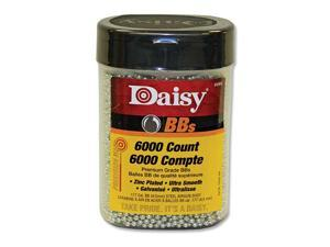 DAISY 980060-444 Daisy Outdoor Products 6000 ct BB Bottle Silver 4.5 mm