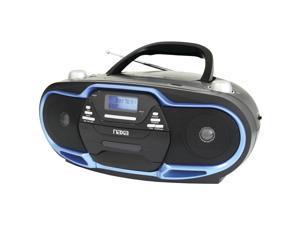 Naxa NPB257 Portable MP3/CD Player, AM/FM Stereo Radio & USB Input