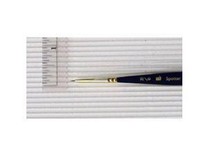 Princeton Brush 3050SP-20-0 Best Synthetic Sable Miniature Watercolor and Acrylic Mini Brush Spotter 20-0