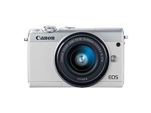CANON-PHOTO VIDEO 2210C011 EOS M100 WHT 24.2MP 3IN LCD