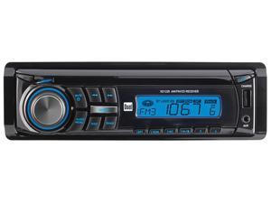 DUAL XD1228 Dual AM/FM/CD Receiver Front 3.5mm Aux Input 60W