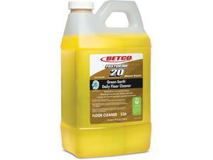 Betco Floor Cleaner Foaming 1/2 Gal (2 Liter) 4/CT Yellow 5364700