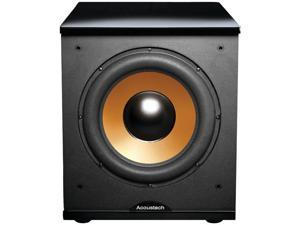 BIC America H-100II 500-Watt Acoustech 12 Front-Firing Powered Subwoofer with Black Lacquer Top