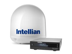 "INTELLIAN I4P LINEAR SYSTEM  17.7"" DISH W/ UNIVERSAL QUAD"