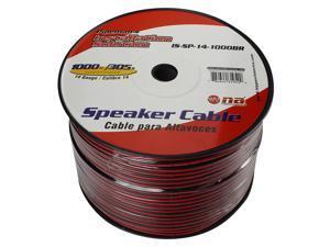 Nippon Pipeman's 14 Gauge Speaker Cable 1000Ft Black/Red jacket
