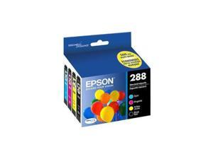 Epson Durabrite Ultra 288 Ink Cartridge - Pigment Black Pigment Cyan Pigment Magenta Pigment Yellow