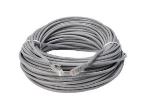 Lorex LORCBL100C5RU 100 ft. Cat 5E Gray In-Wall Rated Extension Cable
