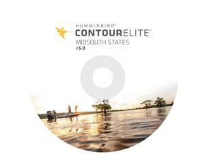 HUMMINBIRD CONTOUR ELITE PC SOFTWARE V5 MID-SOUTH STATES